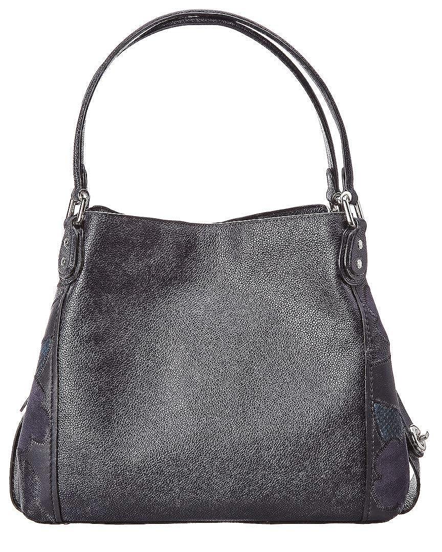 4236aef164 COACH Womens Patchwork Tea Rose Edie 31 Shoulder Bag