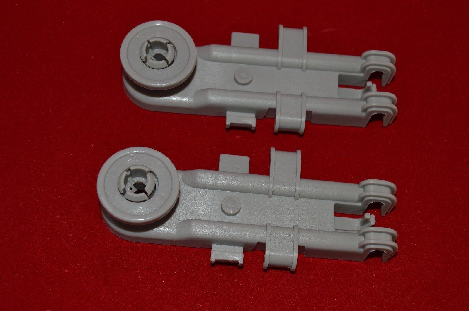 Pokin 8268743 Upper Dish rack Wheel for Whirlpool, Kenmore, KitchenAid 2 Pack