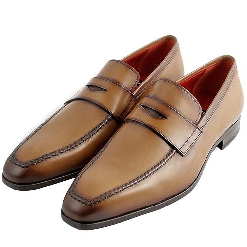 Exclusif Paris - Mocasines para Hombre, Dorado (Dorado), P40,5: Amazon.es: Zapatos y complementos