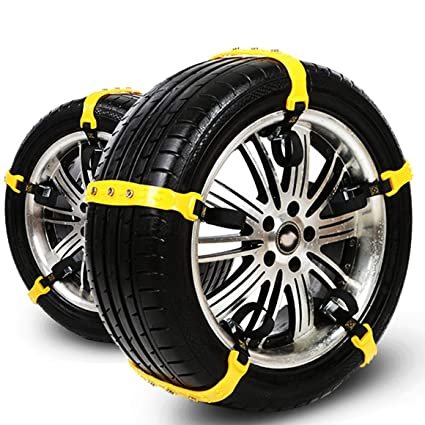 Amazon Com 2018 Newest Version Snow Chain Snow Tire Chains For