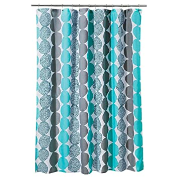 Turquoise And Coral Shower Curtain. Room Essentials Circle Shower Curtain  Turquoise Gray 72 X Fabric Amazon com