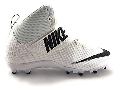 147c3b79eb14 Nike Men's Lunarbeast Pro TD Football Cleat White/Black Size 8.5 ...