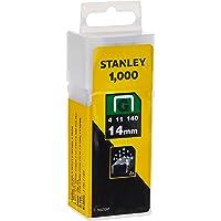 Stanley 1-TRA709T 14mm Heavy-Duty nietje (1000 stuks), Geel