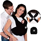 Baby K'tan Original Baby Wrap Carrier, Infant and Child Sling - Simple Pre-Wrapped Holder for Babywearing - No Tying or Rings