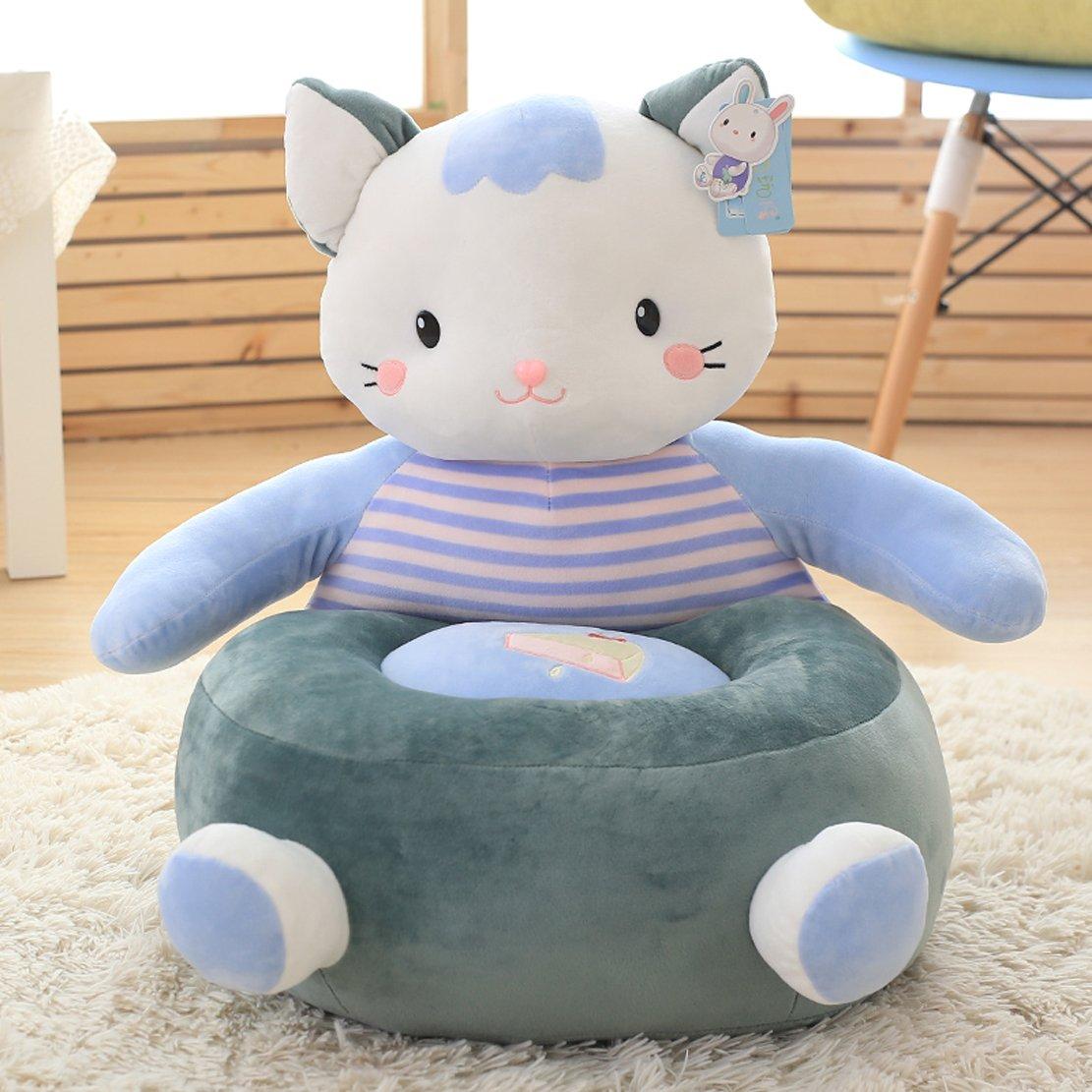 MAXYOYO Cute Kitty niños Peluche Juguete de Peluche de Felpa muñeca, Tatami sofá Silla para niños/los niños/bebé, Mejor Regalo para los niños