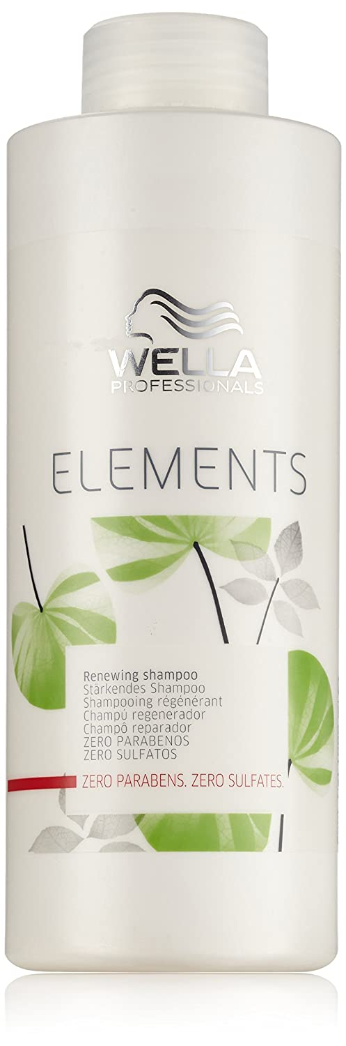 Wella Elements - Champú regenerator, 1000 ml