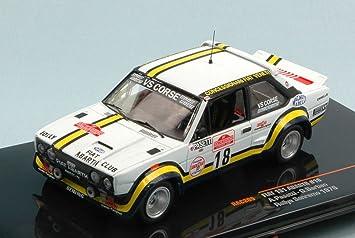 IXO MODEL RAC205 FIAT 131 ABARTH N.18 SANREMO RALLY 1978 PASETTI-BARBAN 1