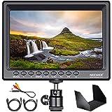 Neewer F100 7 Inch Camera Field Monitor HD Video Assist Slim IPS 1280x800 4K HDMI Input 1080p with Sunshade and Mini Ball Hea