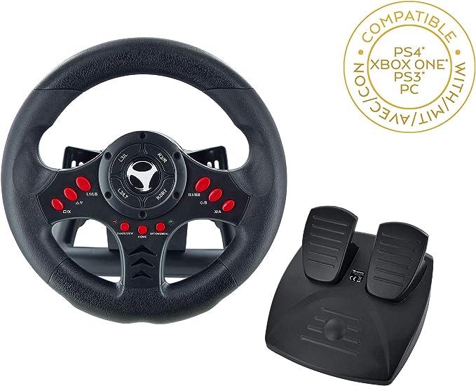 Subsonic - Volant Racing Wheel Universal avec pédalier pour ...