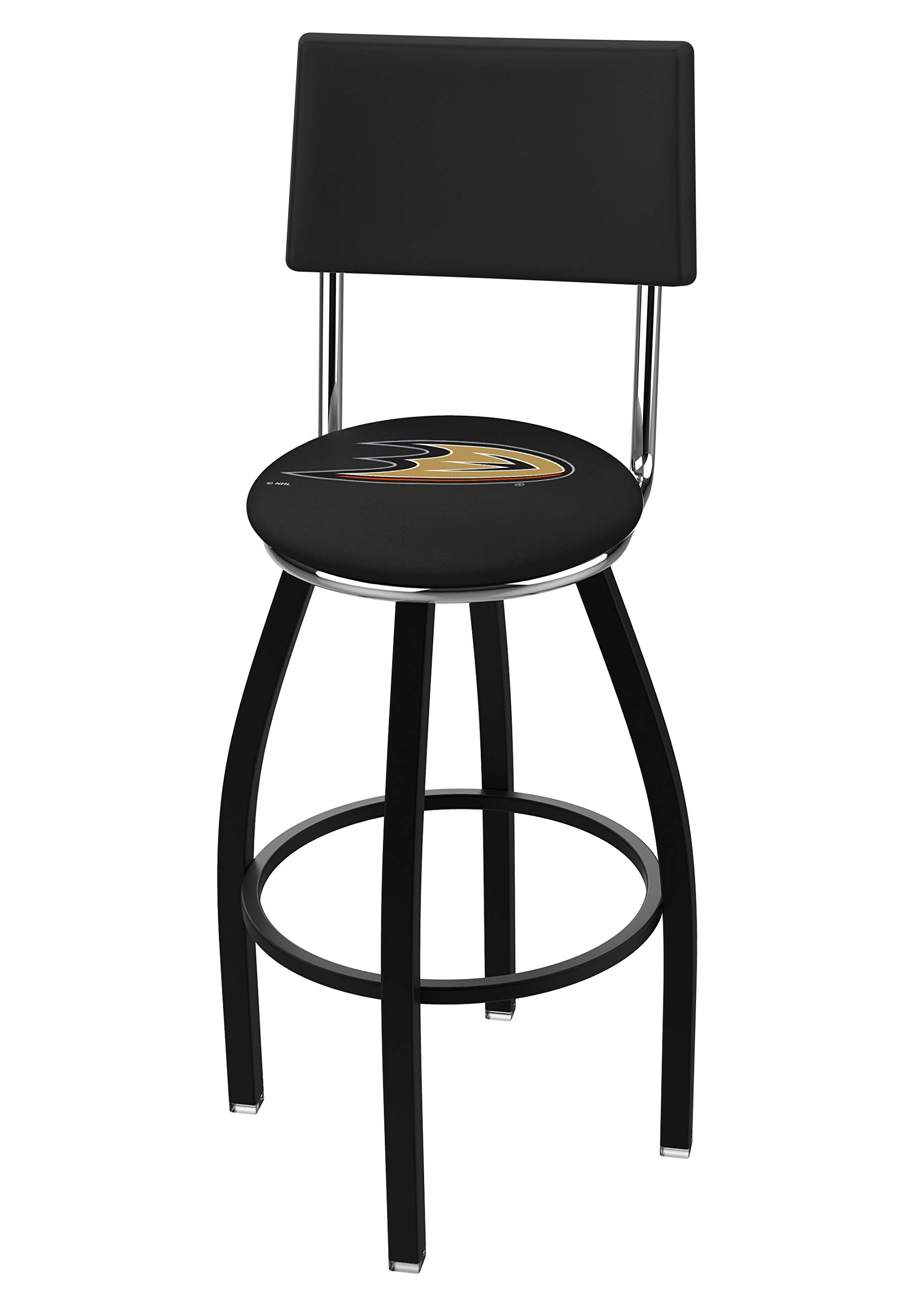 Holland Bar Stool Co. NHL Officially Licensed L8B4 Anaheim Ducks 25'' Counter Stool