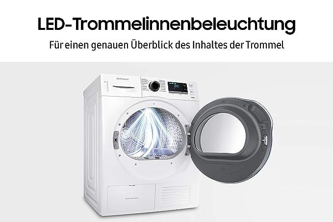 Samsung DV6000 Independiente Carga frontal 8kg A++ Blanco ...
