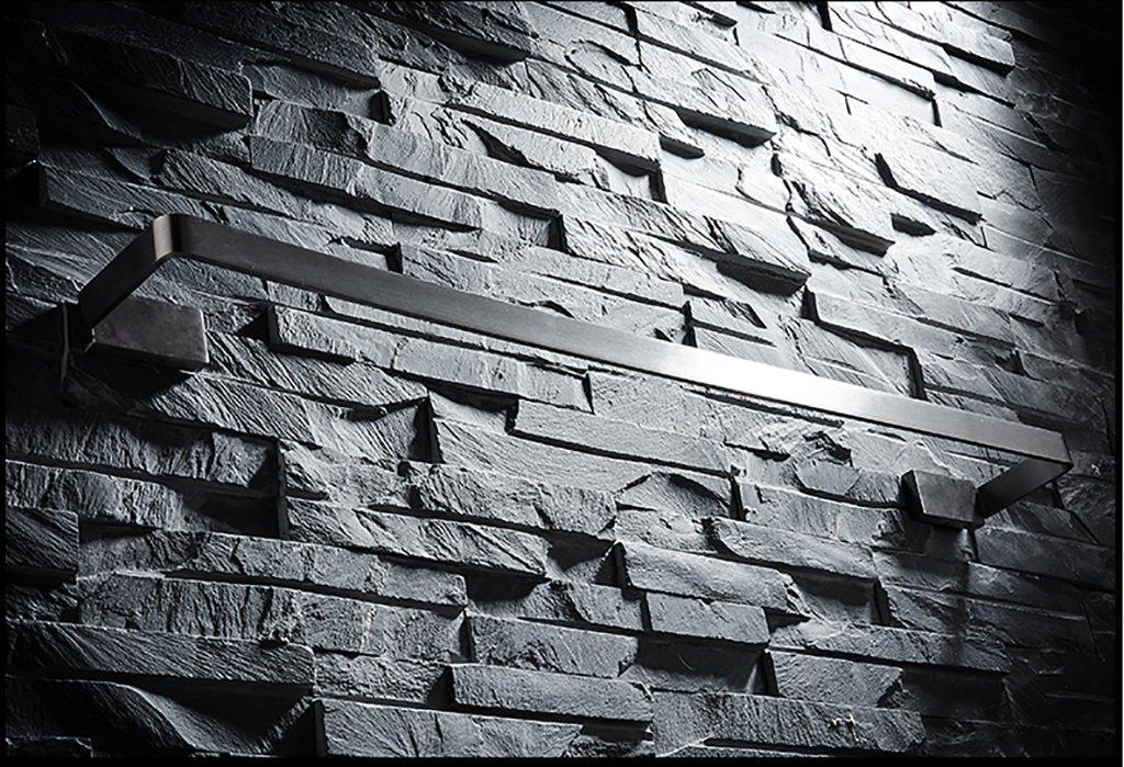 バスルームの棚 304ステンレススチールブラシタオルラックバスルームタオルラックバスルームタオルラック拡張シングルタオルバー バスルームタオル収納ラック (サイズ さいず : 80センチメートル) B07DBWWR6W 80センチメートル 80センチメートル