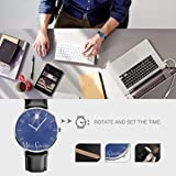 Mens Watch Christmas Star Hot Business Stainless