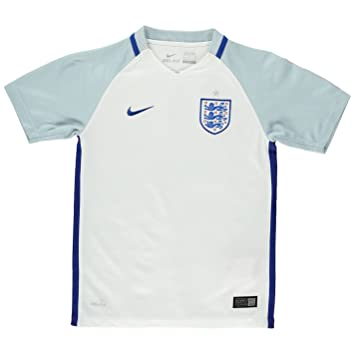 Nike England Home Jersey 2016 Juniors Boys Blanco de fútbol camiseta Top Talla:11-