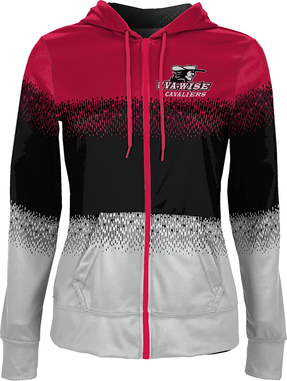 University of Virginias College at Wise Girls Zipper Hoodie School Spirit Sweatshirt Drip