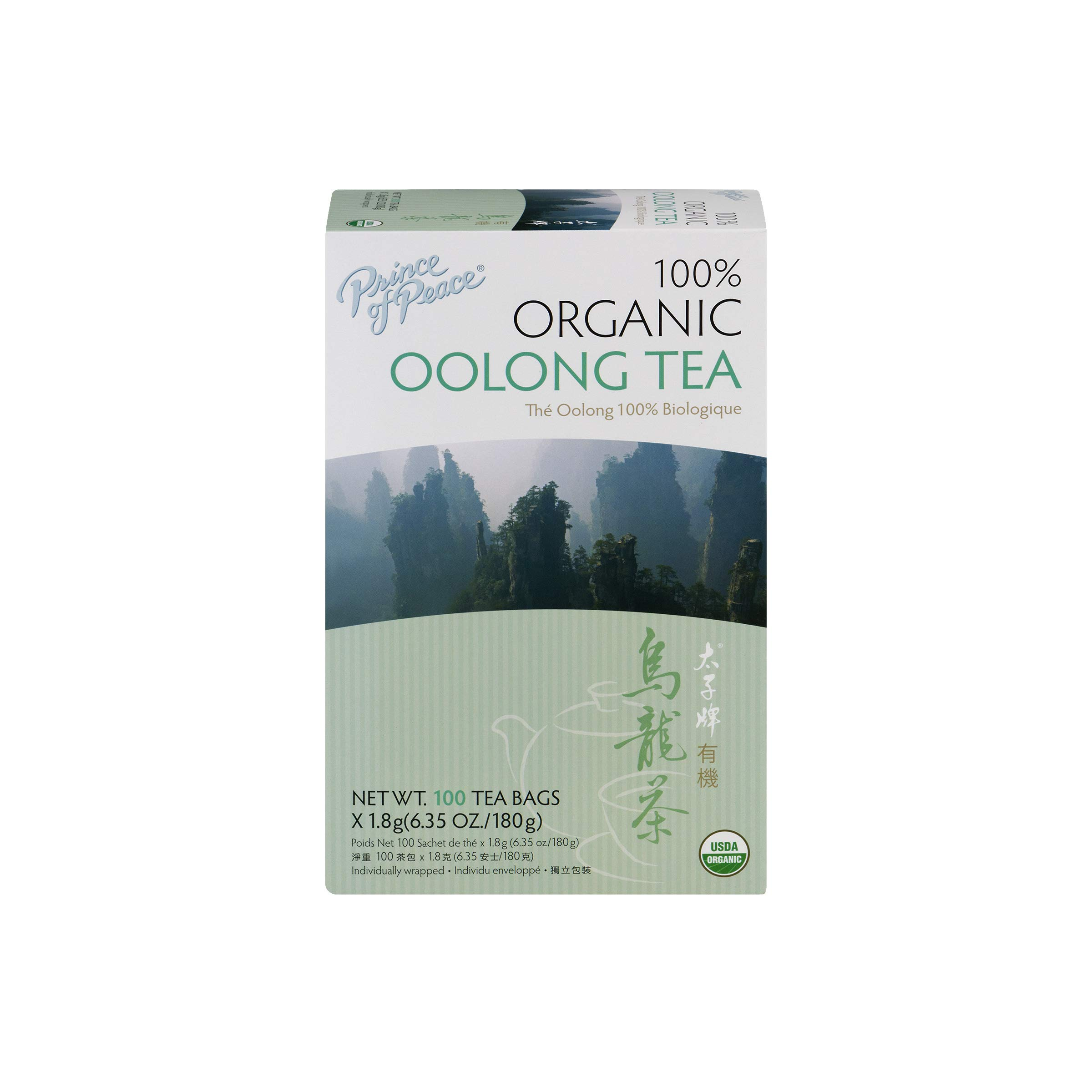 Prince of Peace, Premium Oolong Tea, 4Pack (100 Tea Bags Each) Yhkvl by Prince Of Peace