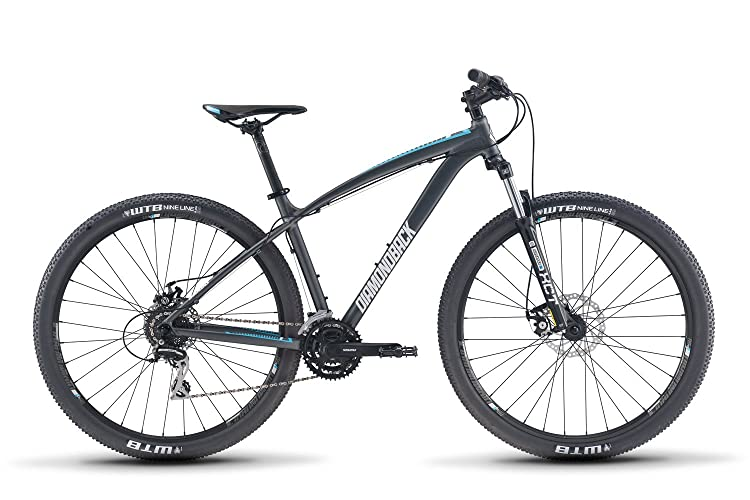 Diamondback Bicycles Overdrive 1 29er Hardtail Mountain Bike, Silver