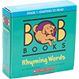 Bob Books - Rhyming Words Box Set | Phonics, Ages 4 and up, Kindergarten, Flashcards (Stage 1: Starting to Read)