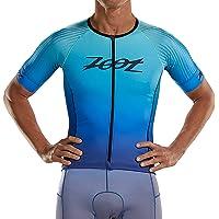 Zoot Heren Triathlon Short Sleeve Aero Jersey Style Sunset M TRI SS Aero Jersey - Sunset