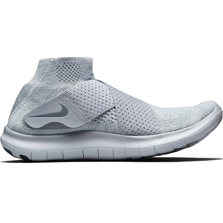 bf6b757735ca7 Nike Free RN Motion FK 2017 Flyknit Mens Running Shoes (Wolf Grey Cool Grey