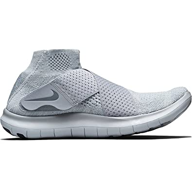 super popular d6761 9dc3b Amazon.com   Nike Free RN Motion FK 2017 Flyknit Mens Running Shoes (Wolf  Grey Cool Grey, 8.5)   Basketball
