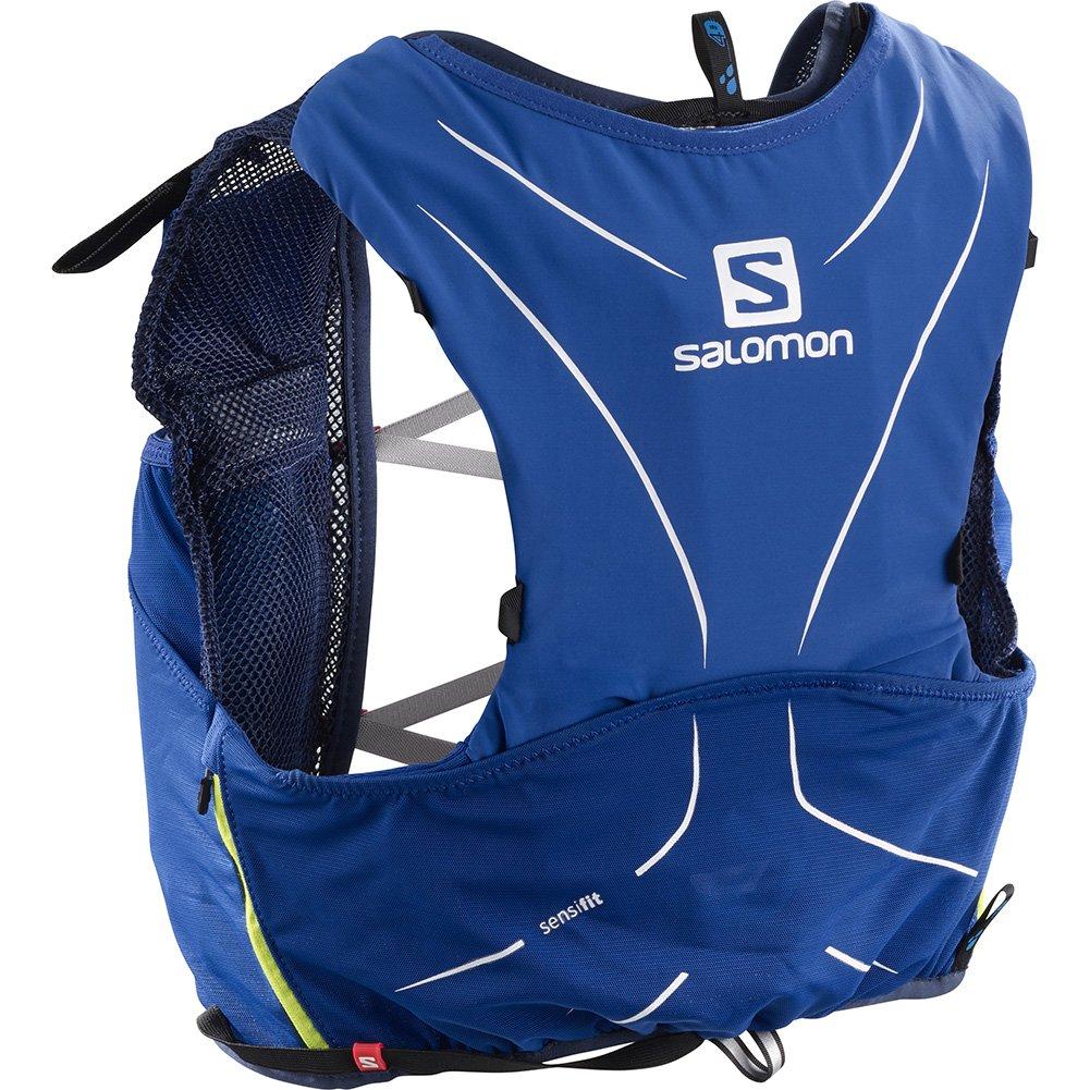 Salomon Salomon ADV SKIN 5 SET Sports Water Bottles, Surf the Web/Dress Blue, XX-Small