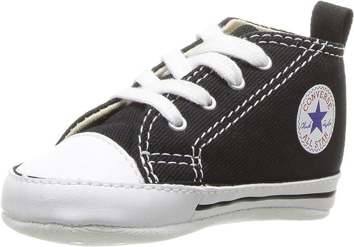 Converse Chucks Chuck Taylor First Star Sneakers Baby Mädchen Jungen Unisex Größe 17-20 Schwarz