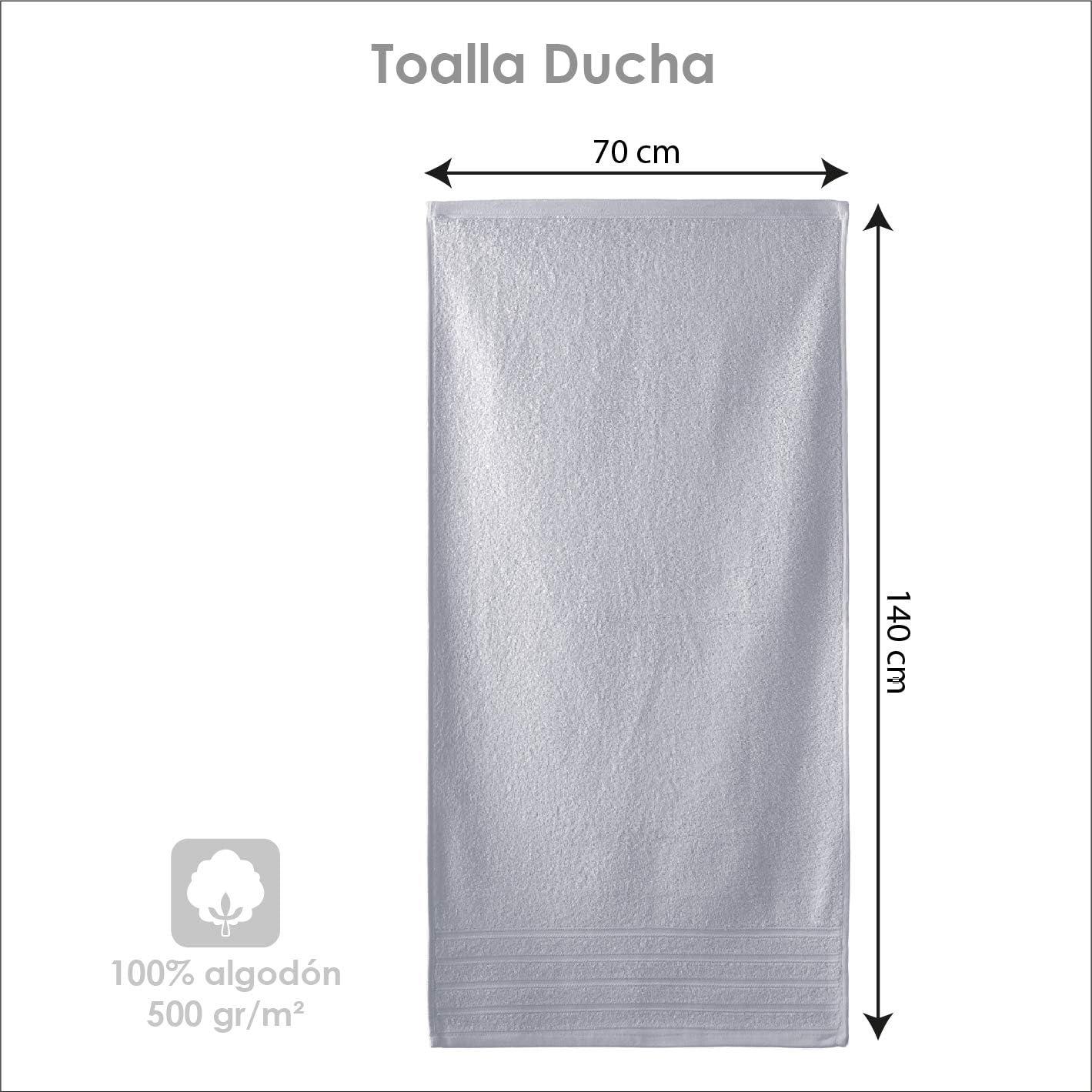 lavabo y ducha beige modelo Diamante rizo americano Barcel/ó Hogar 05040010015 Juego de 3 toallas para bid/é