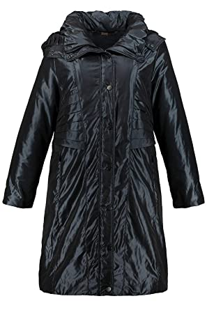 189058e67296 Ulla Popken Damen große Größen Mantel 718841  Ulla Popken  Amazon.de   Bekleidung