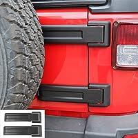 Original Black,2-Pack RT-TCZ Tailgate Hinge Cover Spare Tire Rear Original Style Door Hinge Liftgate Trim for 2007-2017 Jeep Wrangler JK /& Unlimited