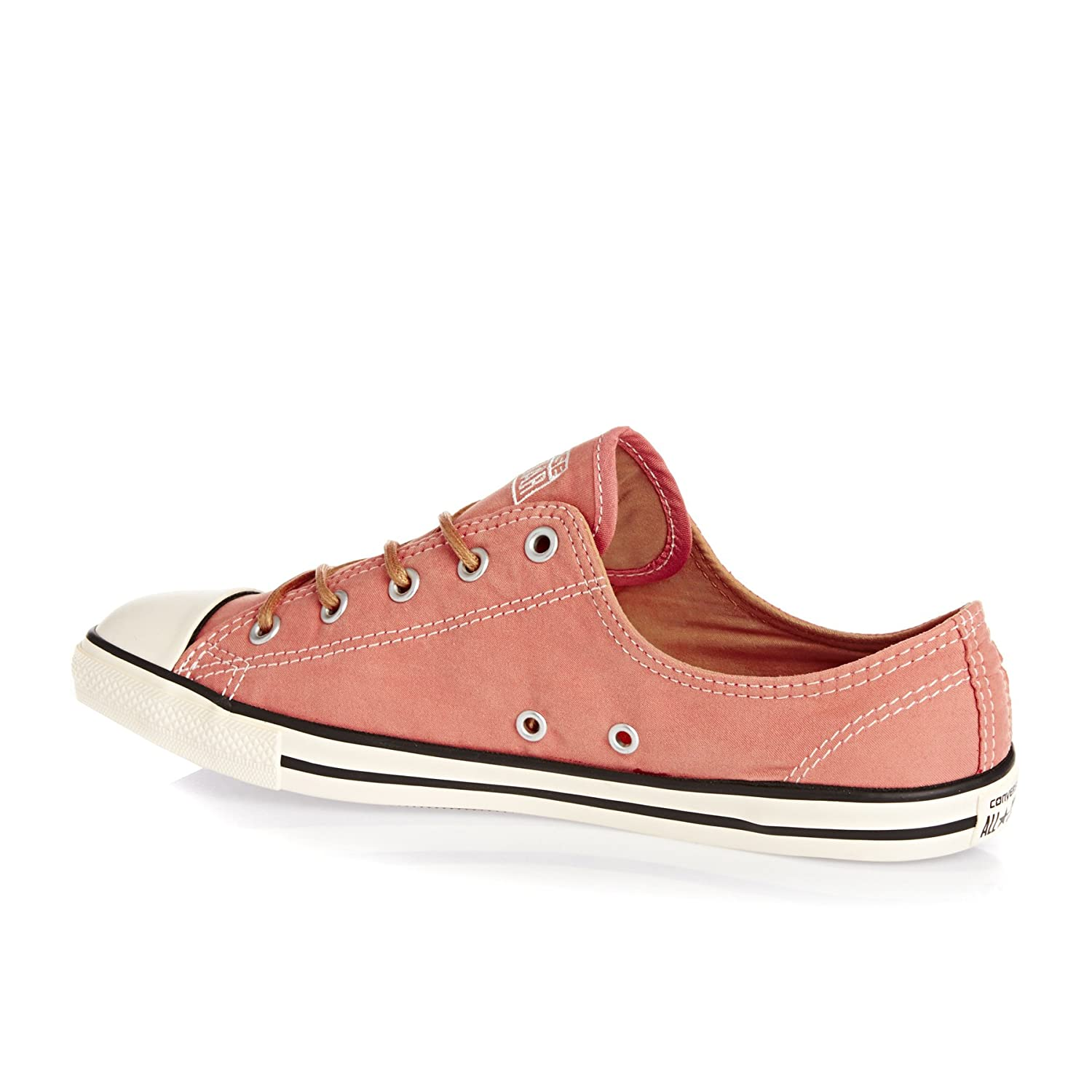 20b0787f553b Converse 553418 °C Dainty Womens Trainers Peached Canvas Pink Blush Biscuit  Egret Pink Size  5.5 UK  Amazon.co.uk  Shoes   Bags