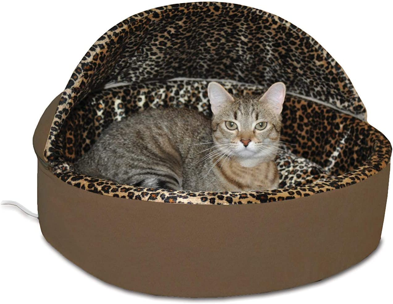 K H Pet Products Thermo-Kitty Heated Pet Bed Deluxe Cat Bed