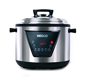 Nesco American Harvest PC11-25 RA42445 Nesco 11-Quart Pressure Cooker, 11 Liter Black