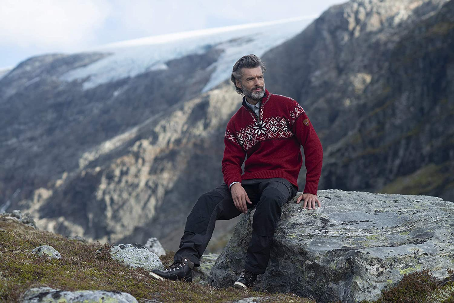 Dale of Norway Geiranger Masc Sweat Homme
