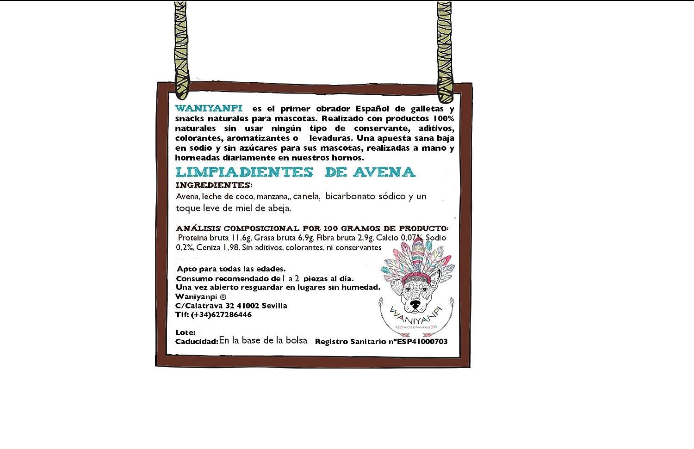 Limpiadientes de avena coco y manzana - 100% Naturales para perro -: Amazon.es: Productos para mascotas