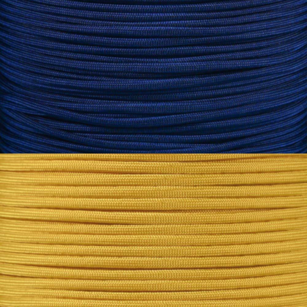 PARACORD PLANET College Team Paracord Kits – 100 Feet – Colors Vary Depending on Team – Bracelet Lanyard Indoor Outdoor