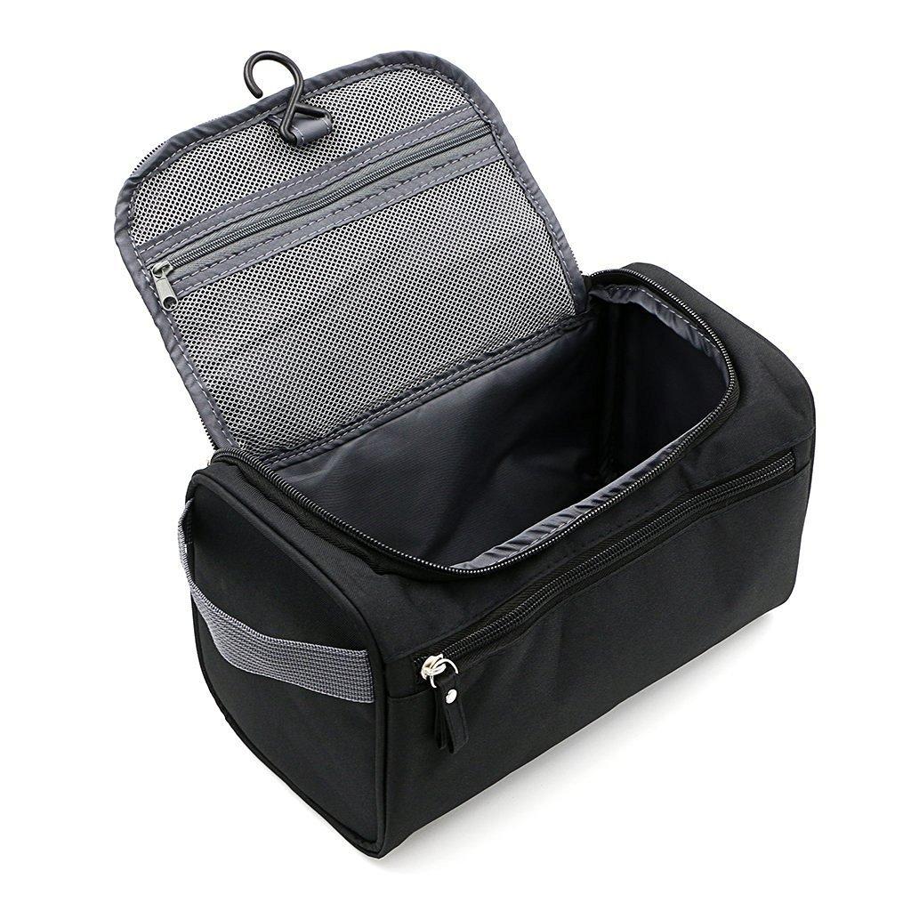 Sacchetto di lavaggio da viaggio per bagagli per uomini e donne nero XIN MU