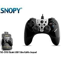 Snopy SG-300 Siyah USB 1.8m Kablo Joypad