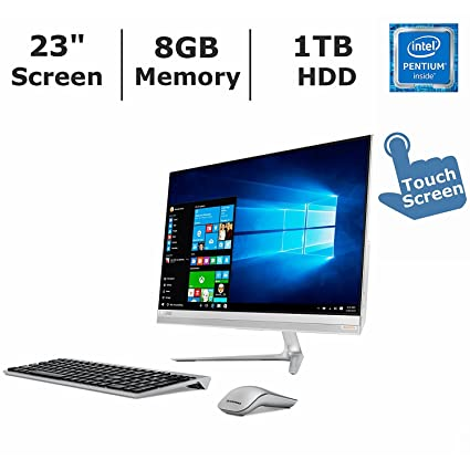 e8aee18ae75 2017 Newest Lenovo IdeaCentre 510S All-in-One Desktop PC with Wireless  Keyboard &
