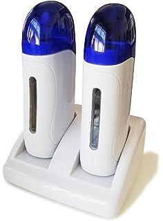 Crisnails® Calentador de Cera Tibia Roll-On para Depilación Profesional, Color Blanco con