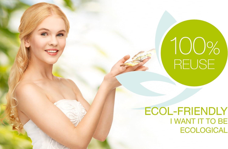 MamiCup® copa menstrual Aprobada por la FDA Silicona suave, flexibe y reutilizable de grado medicinal (Rosa, L)