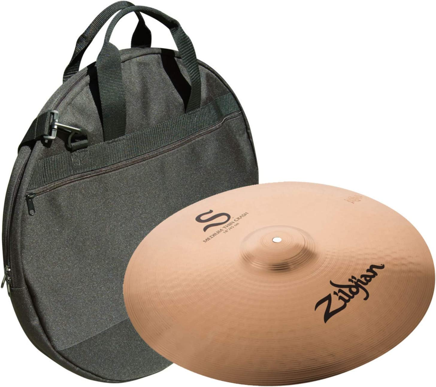 Avedis Zildjian Company Zildjian 18 S Medium Thin Crash Cymbal