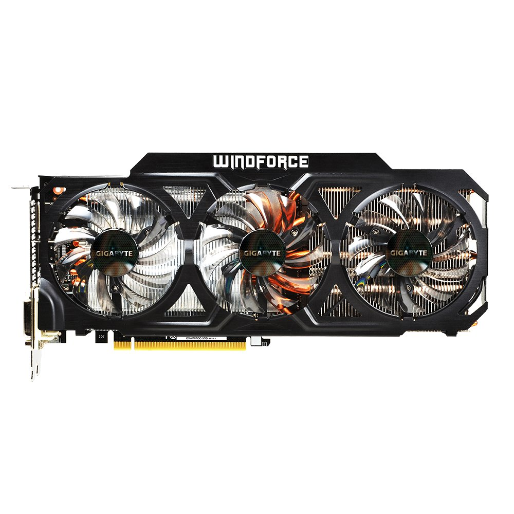 Gigabyte GV-N78TOC-3GD GeForce GTX 780 Ti 3GB GDDR5 ...