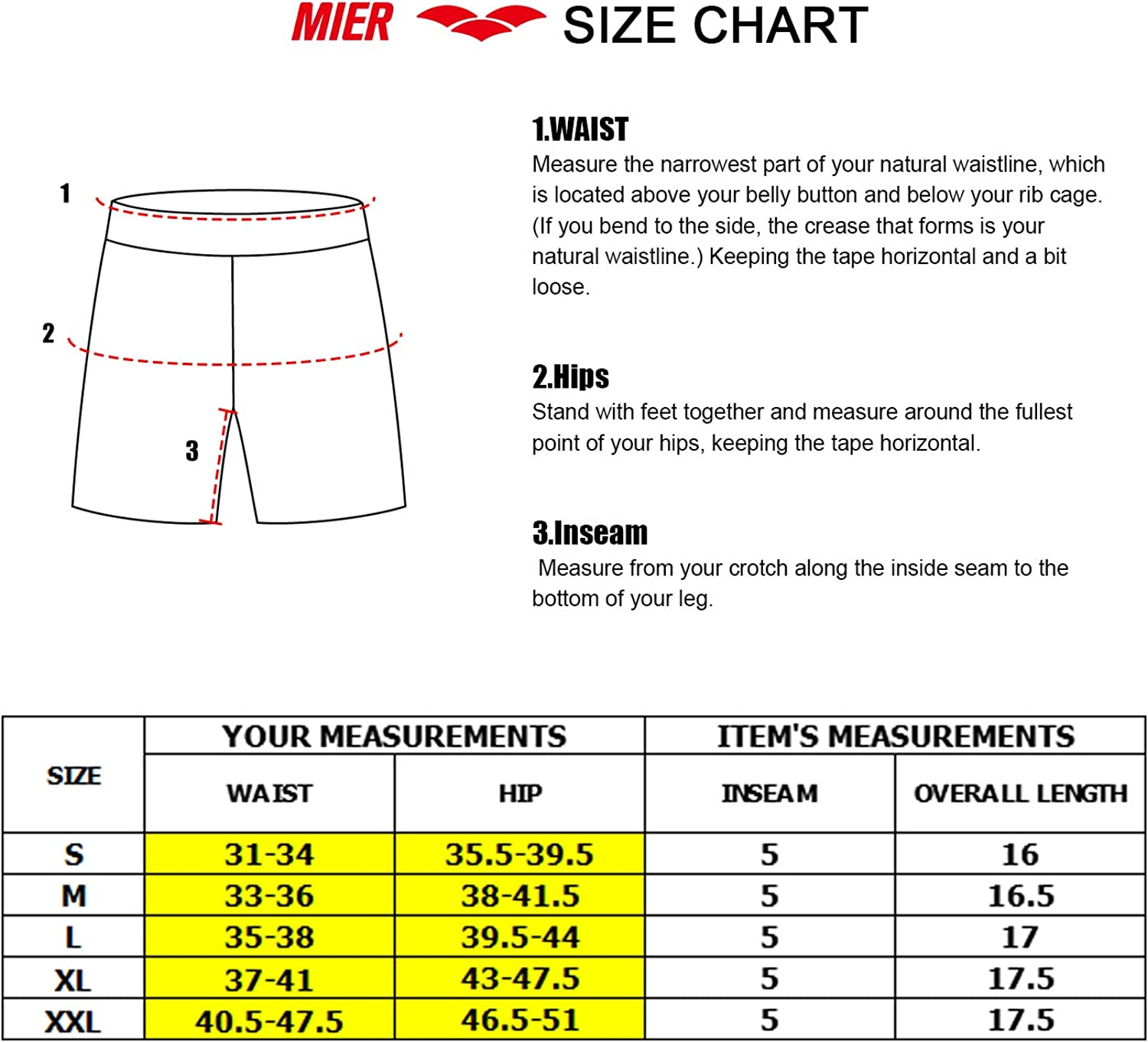 Lightweight No Liner MIER Mens 5 Inches Running Athletic Shorts Quick Dry Workout Training Tennis Shorts with 4 Pockets