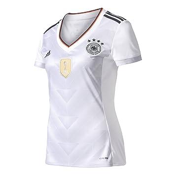 Adidas DFB H JSY W Camiseta Oficial 1ª Equipación Federación Alemana de Fútbol, Mujer: Amazon.es: Deportes y aire libre
