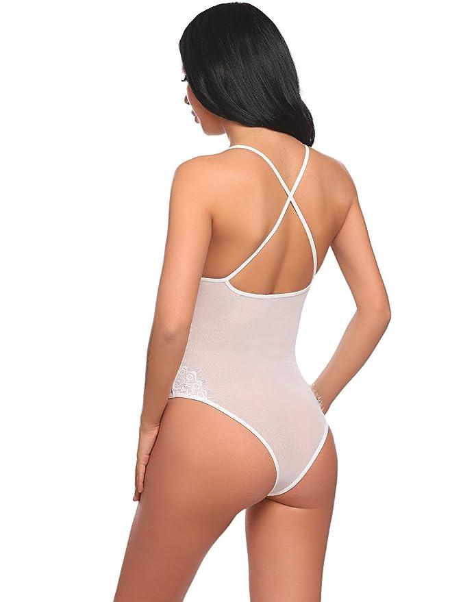 Avidlove Femme Body En Dentelle Sexy Babydoll Sous-vêtements De Nuit Teddy  1 Pcs  Amazon.fr  Vêtements et accessoires 4a459c0b63a