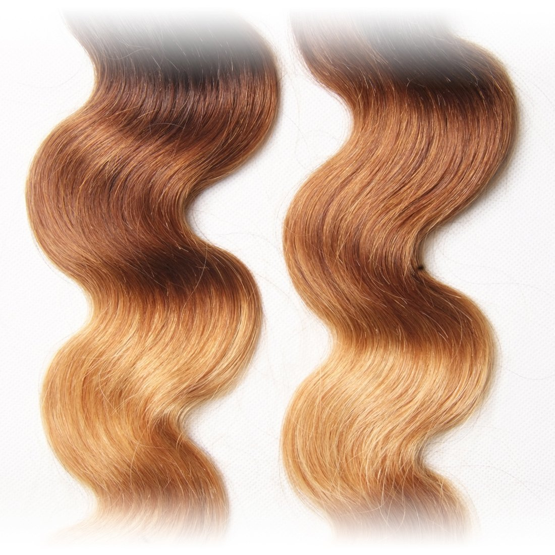 Amazon Ali Julia Brazilian Ombre Body Wave Virgin Hair Weave 3