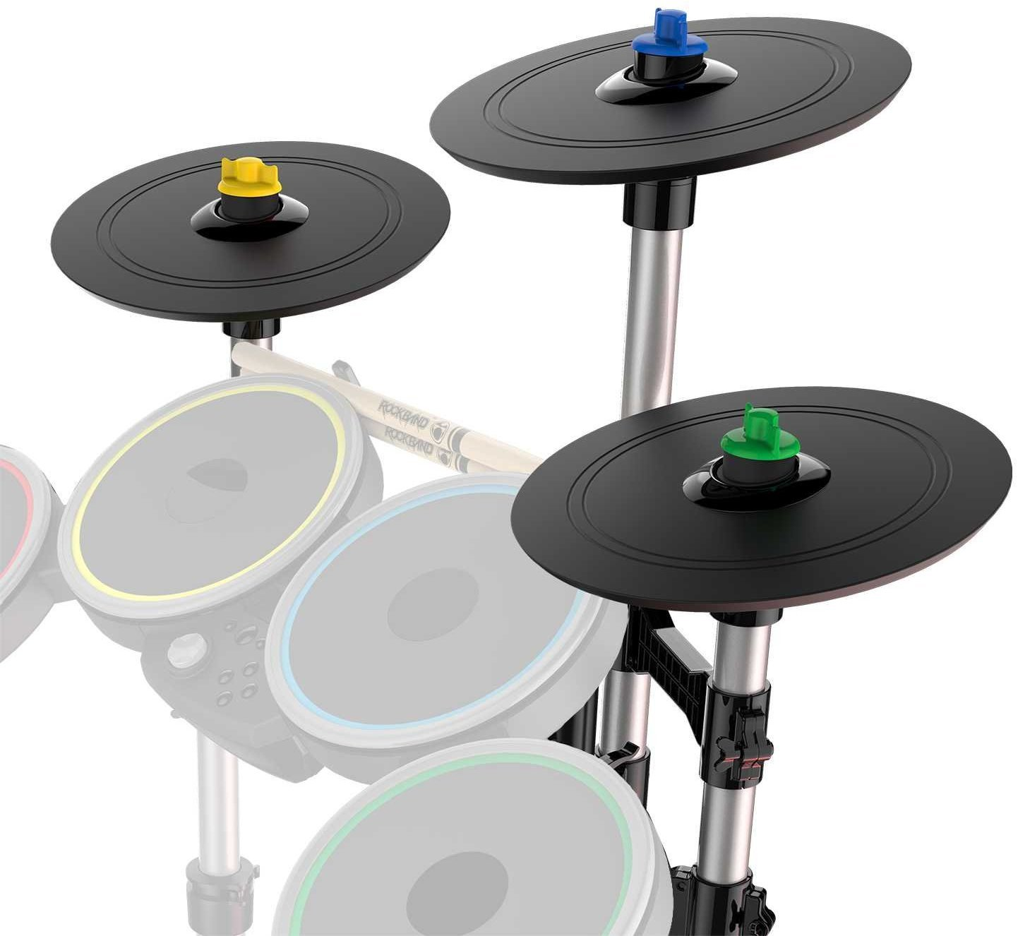 Rockband Pro-Cymbals Expansion Kit for Rock Band Rivals and Rock Band 4 Drum Kits by Harmonix
