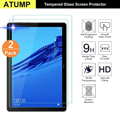"""For Huawei MediaPad T5 10 Tempered Glass Screen Protector 10.1/"""" 2 PACK"""