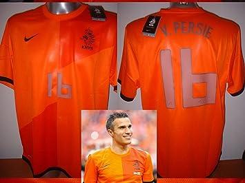 official photos 32aa3 b1a90 Holland Netherlands BNWT Robin Van Persie Shirt Jersey ...